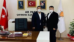 CHP'li Başkan'dan AK Başkan'a tebrik
