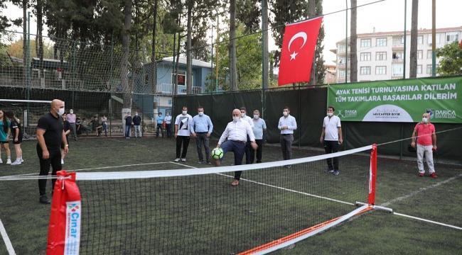 Darıca'da turnuva başladı!