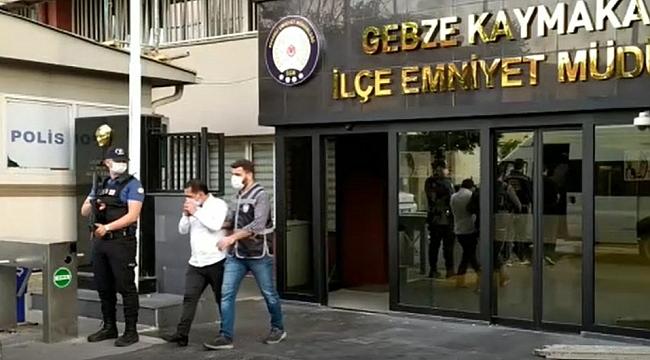 Gebze'de Tır hırsızları yakalandı!