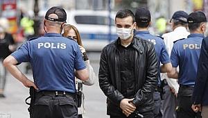 Korona denetiminde 380 tane ceza kesildi