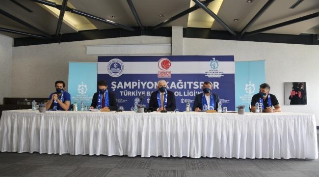 TBF Basketbol 1. Ligi'nde mücadele edecek Kağıtspor'da imzalar atıldı