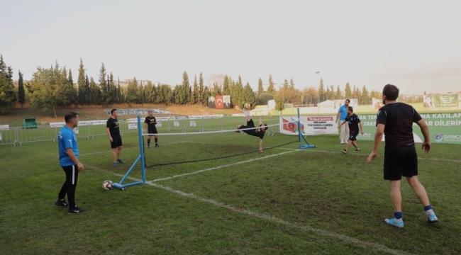 Darıca'da Ayak Tenisi Turnuvası sona erdi