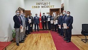 Darıca'daki okullar belge aldı!