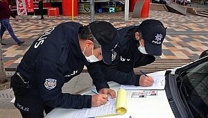 Bir haftada bin 281 kişiye idari ceza