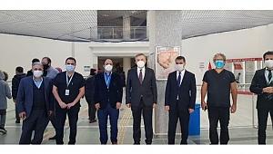 İl Sağlık Müdürü Fatih Devlet'i inceledi