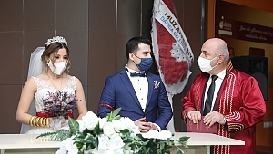 2020 yılında Darıca'da bin 256 çift evlendi