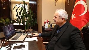 Büyükgöz Bakan Dönmez'in düzenlediği toplantıya katıldı