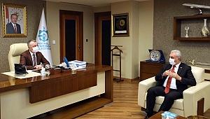 Çiler'den Başkan Büyükakın'a ziyaret