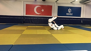 Judocular kuşak sınavında
