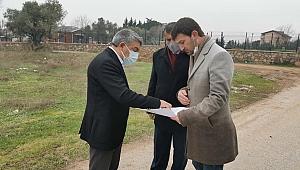 Başkan Şayir, projeyi yerinde inceledi
