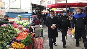 Kaymakam Alkan'dan pazar denetimi