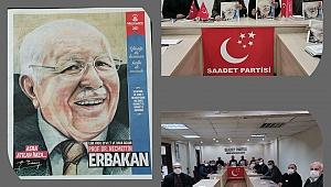 Saadet Gebze'de gündem Erbakan!