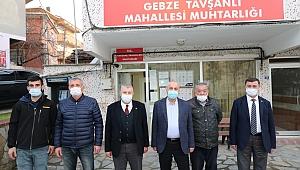 Büyükgöz'den mahalle ziyareti