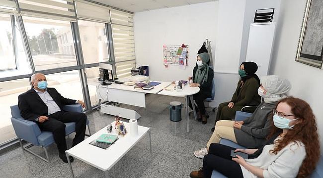 Başkan Büyükgöz'den aile danışma merkezine ziyaret