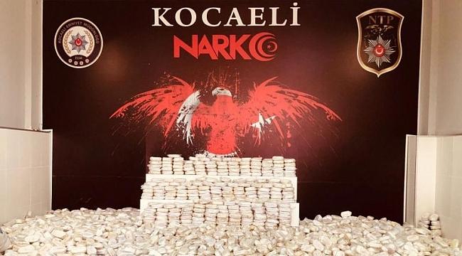 Kocaeli'de zehir tacirlerine ağır darbe: 52 kişi tutuklandı!