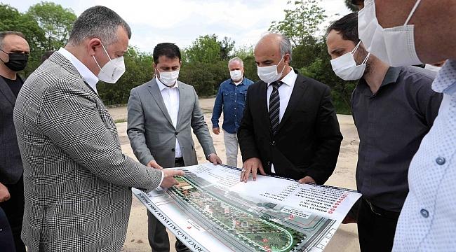 Başkan Büyükakın, ''Sağlıklı Yaşam Parkı için çok titiz çalıştık''