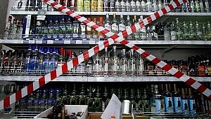 Hafta sonu alkol satışı yasak