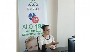 """SEDAŞ'tan """"Engelsiz Çağrı Merkezi"""" hizmeti"""
