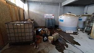 4 bin litre kaçak akaryakıt ele geçirildi