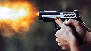 Kardeşini silahla vurdu!