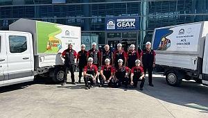 Gebze'den Kastamonu'ya  GEAK ekipleri ve teçhizat