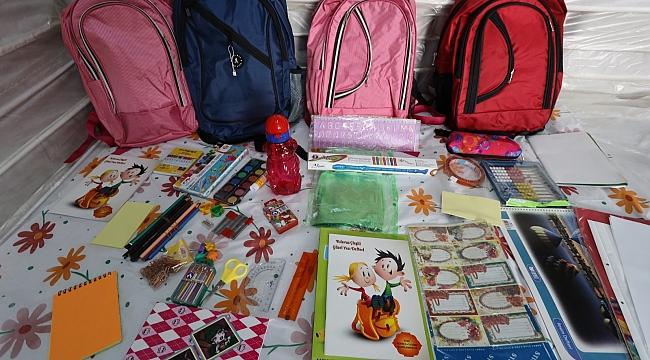 Birinci sınıfların okul çantası Büyükşehir'den