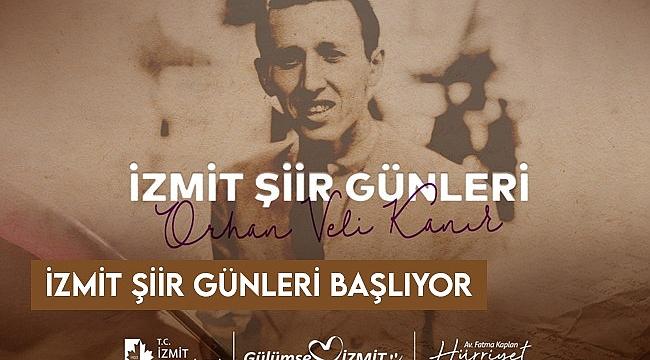 İzmit Belediyesi, bu akşam Orhan Veli'yi anacak