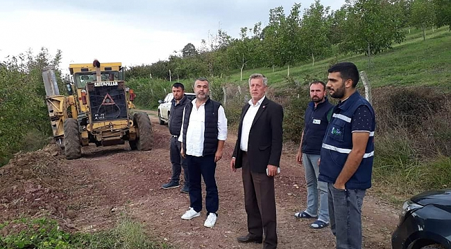 Muhtar Hizmet Masası  Dağköy'de çalışmaları inceledi
