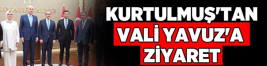 Numan Kurtulmuş'tan Vali Yavuz'a ziyaret