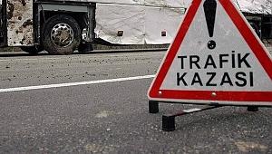 Yolcu otobüsü ile tır çarpıştı: 3 kişi yaralandı
