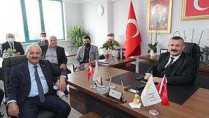 Büyükgöz Gebze'deki partilerle istişare yaptı!