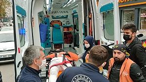 Gebze'de trafik kazası! 1 yaralı