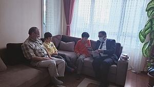 Güler Kıbrıs Gazilerini ziyaret etti!