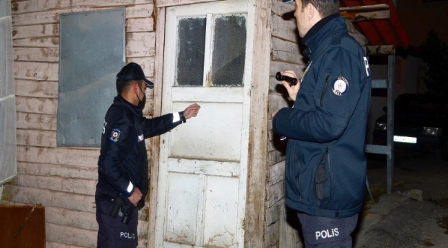 Polis aranan şahısları tek tek topladı!