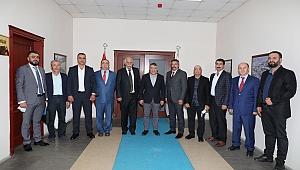 Şayir'den DİLGİAD'a uygulamalı eğitim merkezli küçük sanayi sitesine tam destek