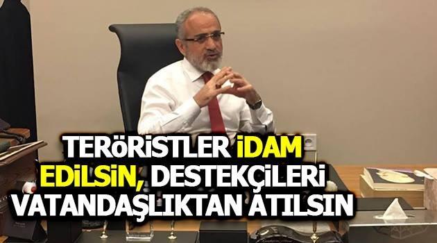 Cumhurbaşkanlığı Başdanışmanı Yalçın Topçu'dan terör açıklaması: