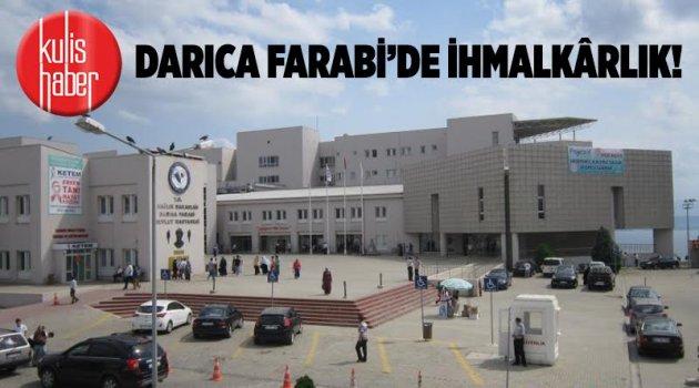 Darıca Farabi'de ihmalkârlık!