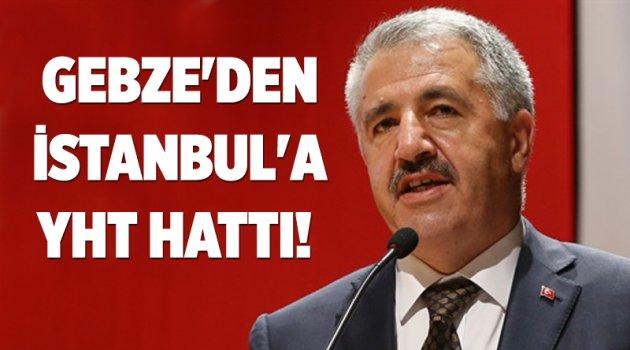Gebze'den İstanbul'a YHT hattı!