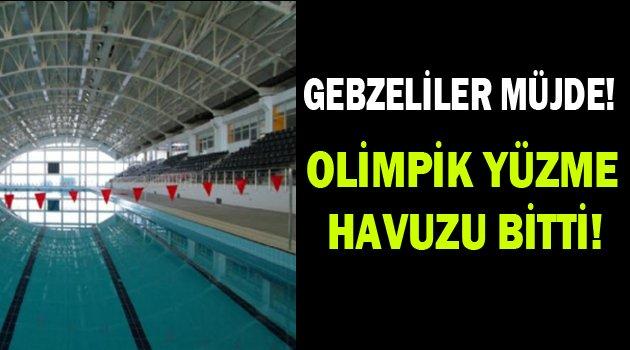 Gebze'ye tam donanımlı olimpik havuz