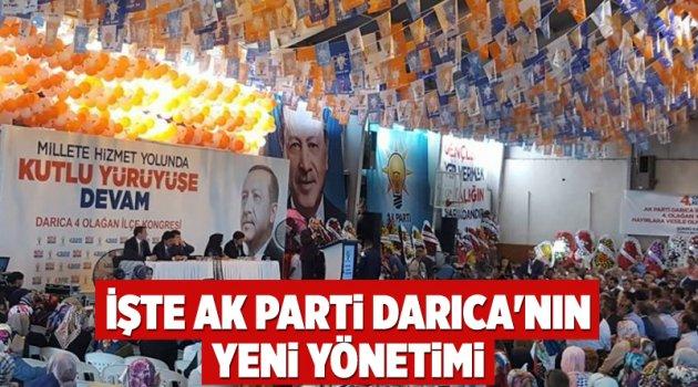 İşte AK Parti Darıca'nın yeni yönetimi