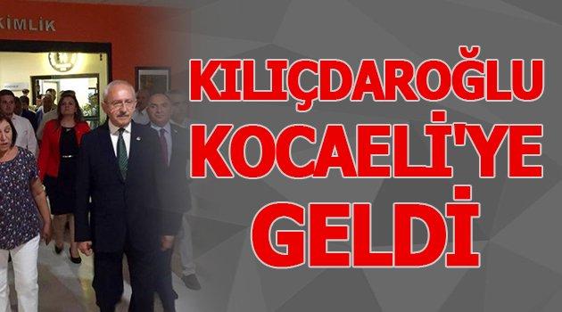 Kılıçdaroğlu, Kocaeli'ye geldi
