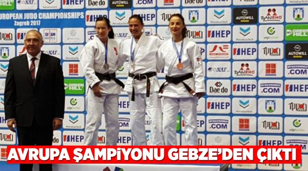 Avrupa Şampiyonu Gebze'den çıktı