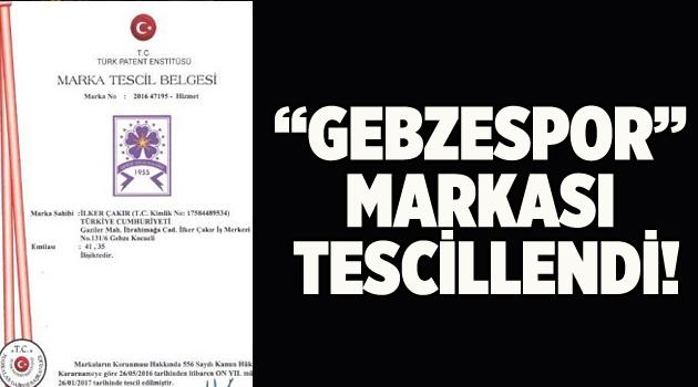 'Gebzespor' markası tescillendi