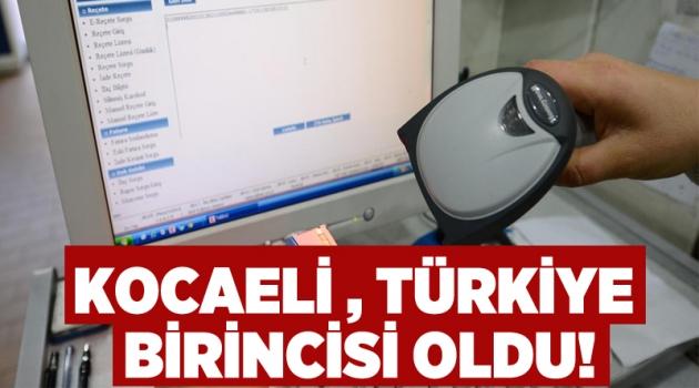 Kocaeli, Türkiye birincisi oldu!