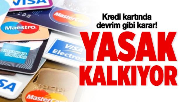 Kredi kartında devrim gibi karar!