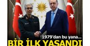 İranlı komutandan Beştepe'ye ziyaret