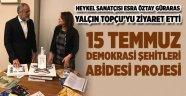 15 Temmuz demokrasi şehitleri abidesi projesi