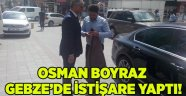 Boyraz Gebze'de istişare yaptı!