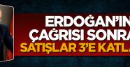 Cumhurbaşkanı Erdoğan'ın çağrısı sonrası altın satışı 3'e katlandı