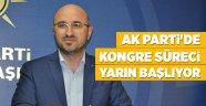 AK Parti'de kongre süreci yarın başlıyor